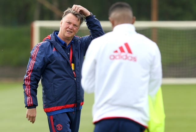 Louis van Gaal was left scratching his head after a poor start at Old Trafford.