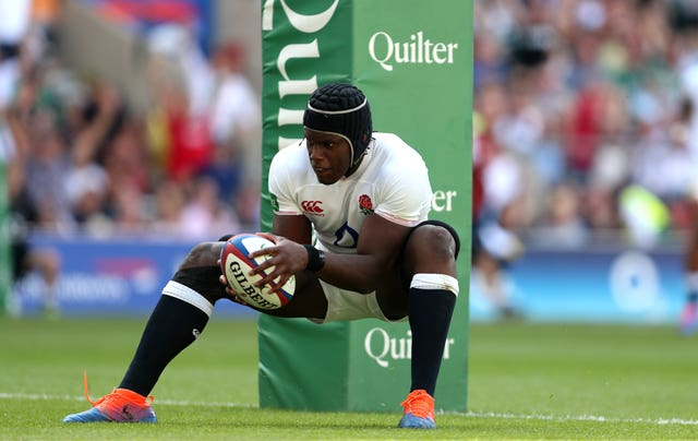 Maro Itoje will partner Courtney Lawes in the second row