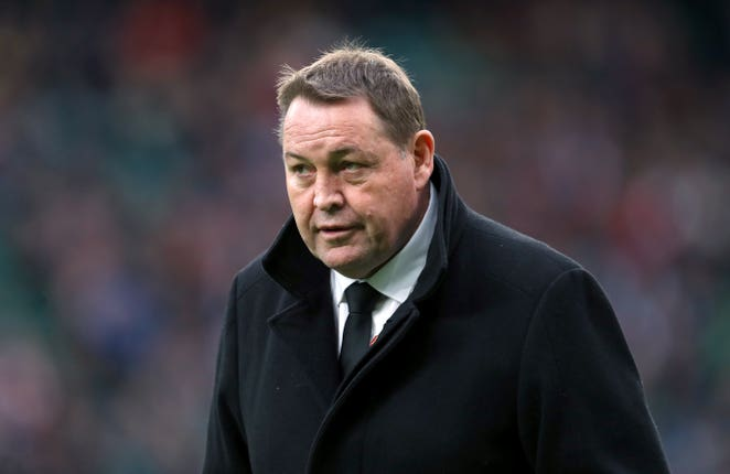 Steve Hansen is looking to guide New Zealand to a third World Cup triumph in a row (David Davies/PA).