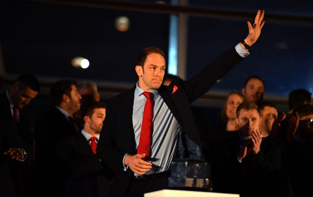 Alun Wyn Jones captained Wales to Grand Slam glory