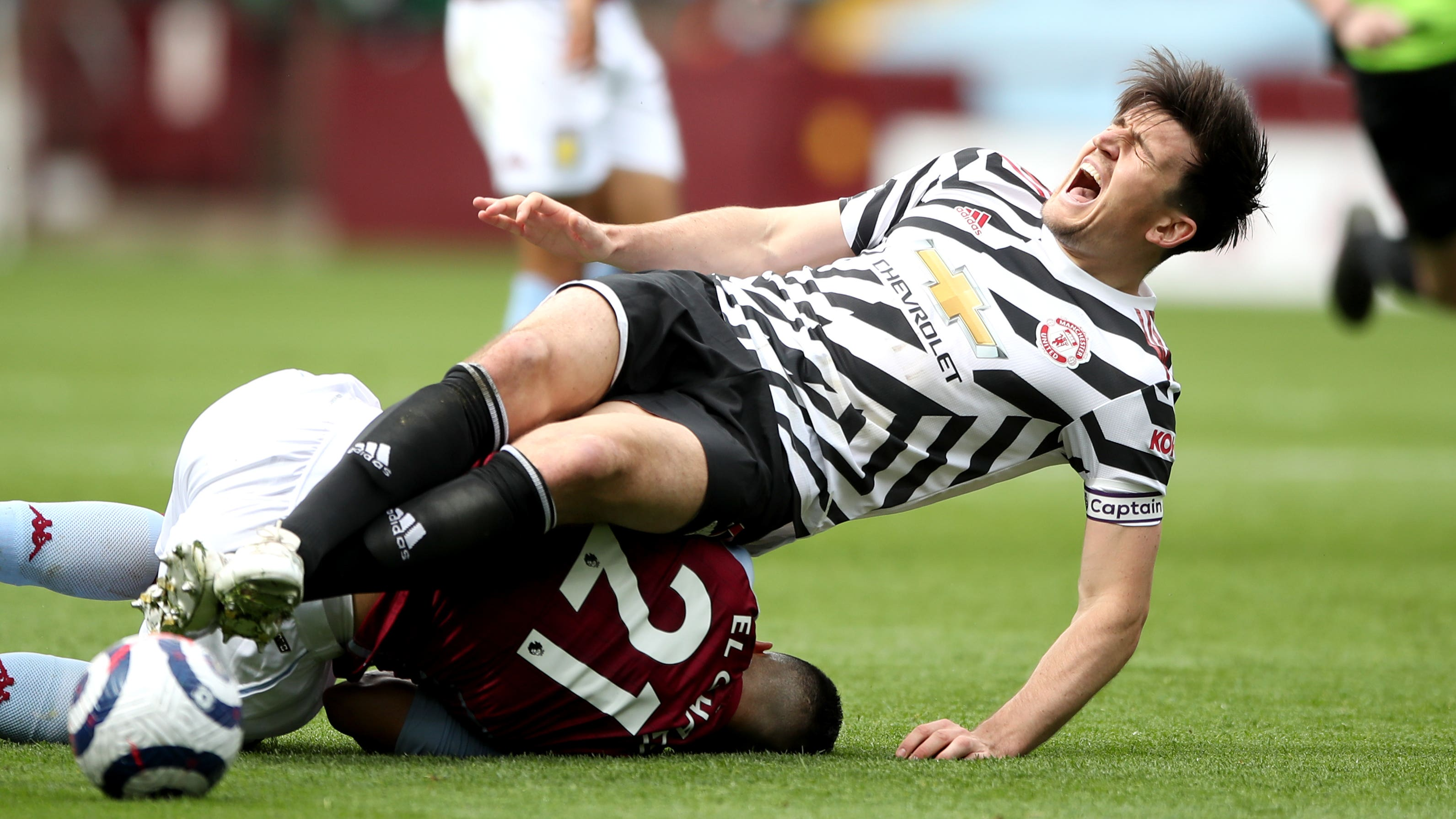 Harry Maguire suffers ankle ligament damage ahead of the ...