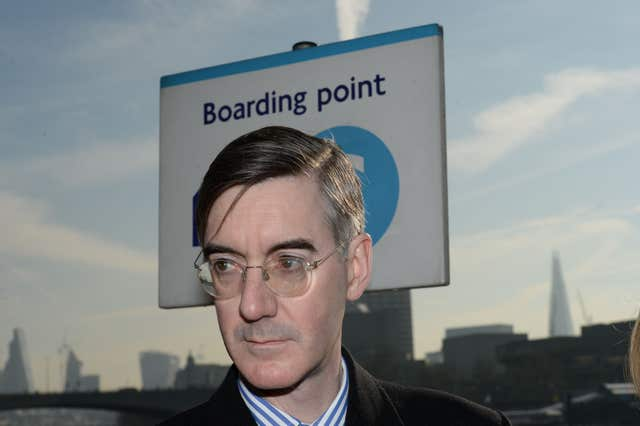 Jacob Rees-Mogg branded the transition deal 'a mistake' (Stefan Rousseau/PA)
