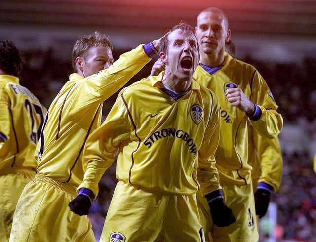 Lee Bowyer was a key member of the Leeds team who reached the Champions League semi-finals