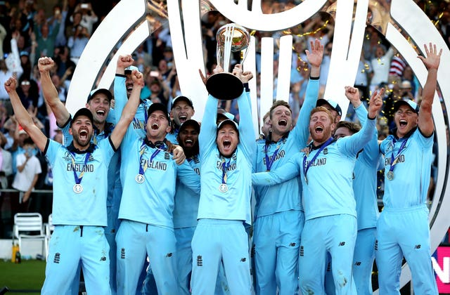 Eoin Morgan led England to World Cup glory last summer