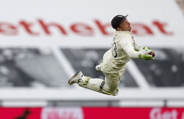 Jos Buttler produced a stunning catch
