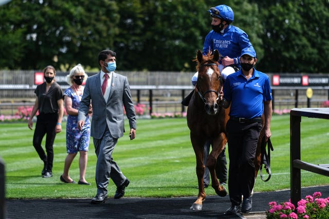 Saeed bin Suroor is looking forward to taking Ghaly to Dubai next year