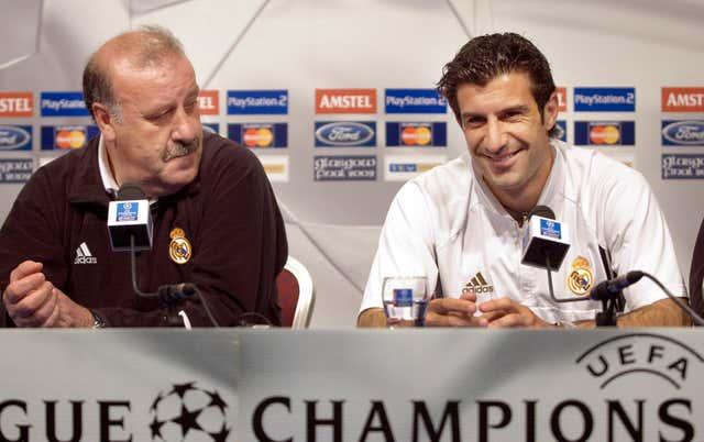 Luis Figo was the main transfer target of new Real Madrid president Florentino Perez