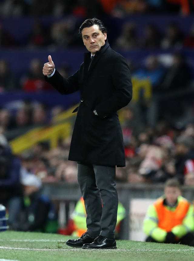 Vincenzo Montella could not be happier with his side's victory