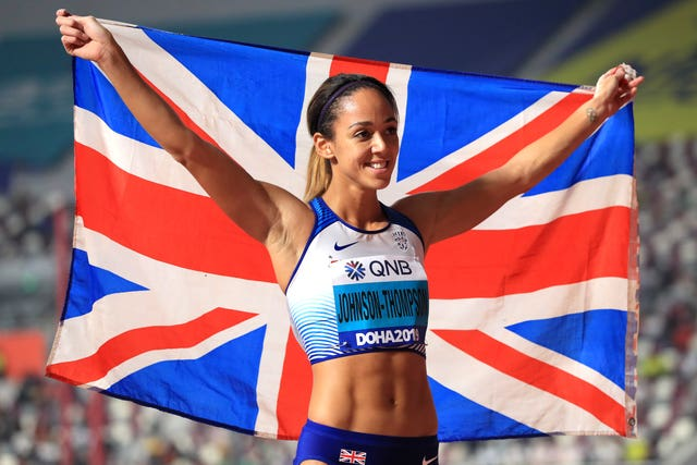 Great Britain's Katarina Johnson-Thompson's gold medal was one of only a few bright points at the World Championships