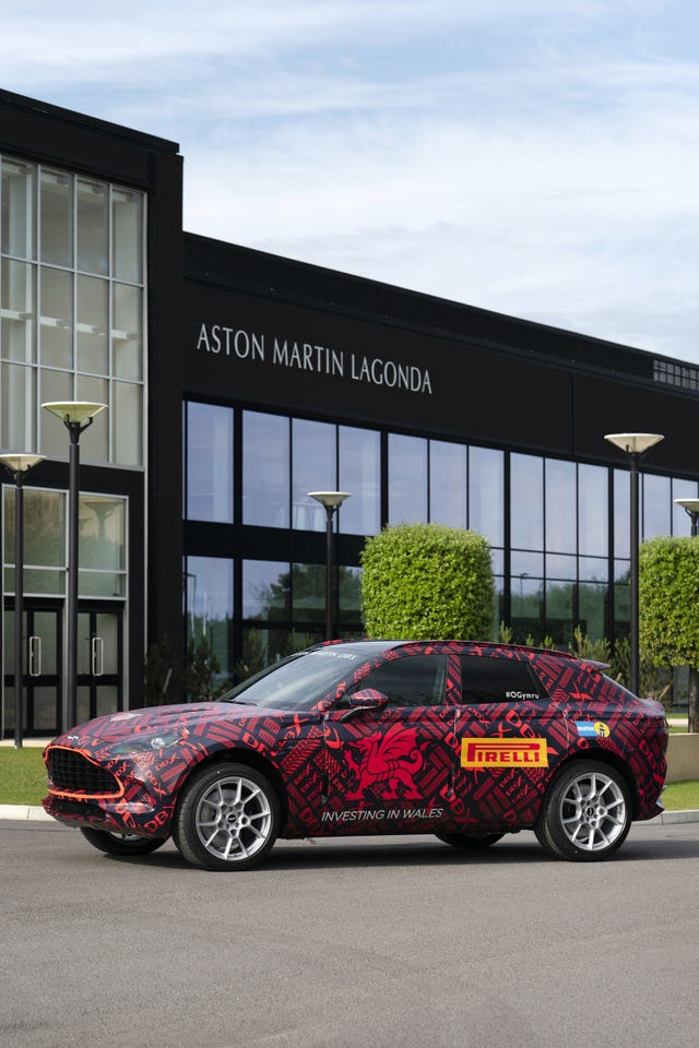 Aston Martin South Wales factory