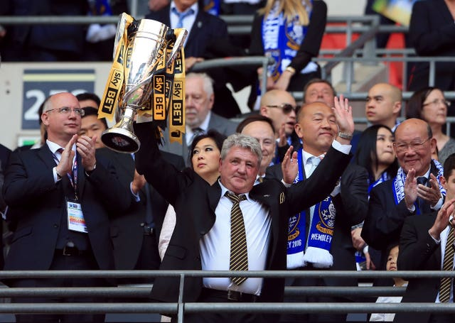 Steve Bruce experienced highs and lows at Hull