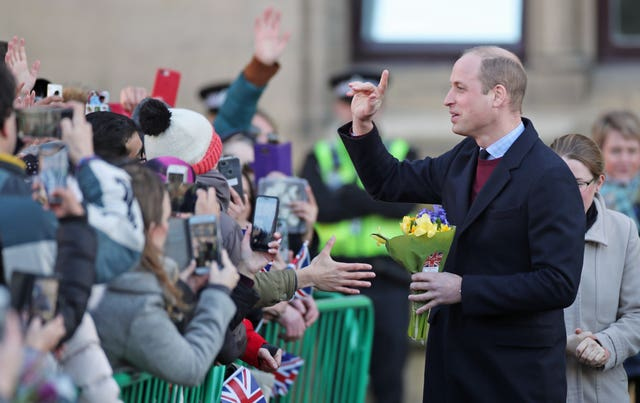 Royal visit to Bradford