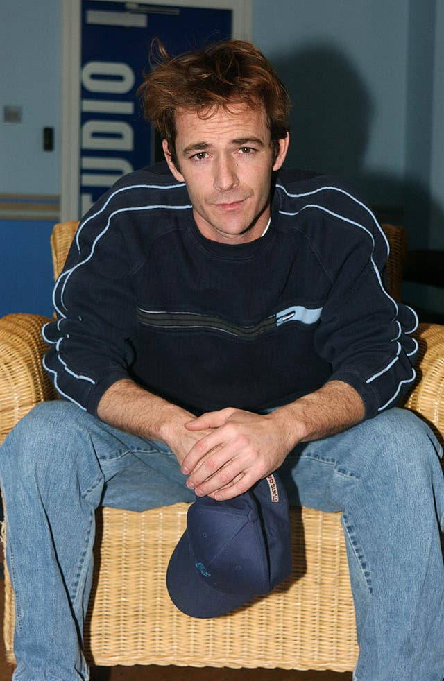Luke Perry MTV's TRL UK