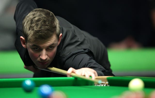 Cahill during his victory over Mark Selby last year