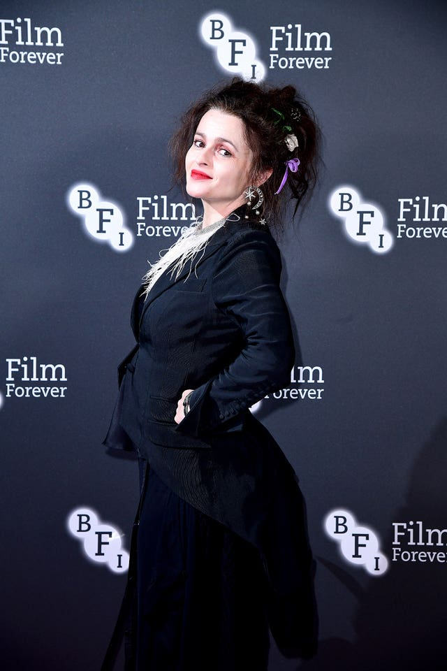 Helena Bonham Carter at a BFI event