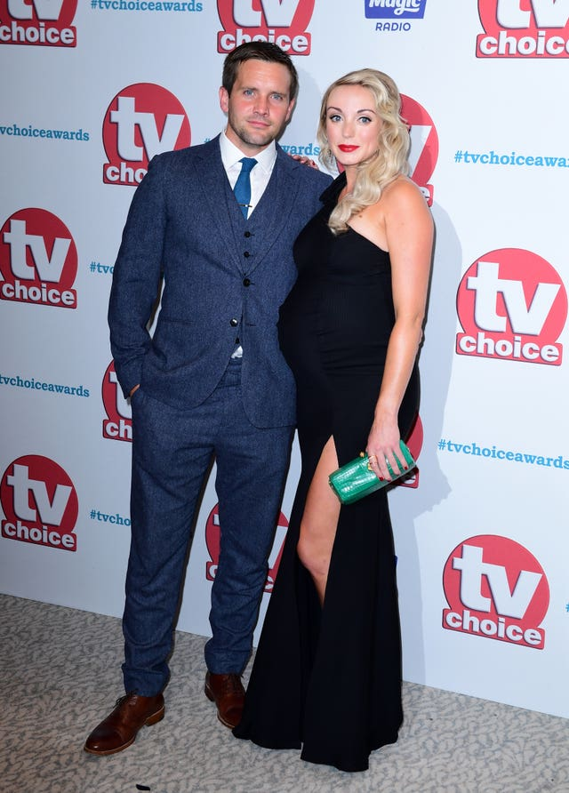 Jack Ashton and Helen George