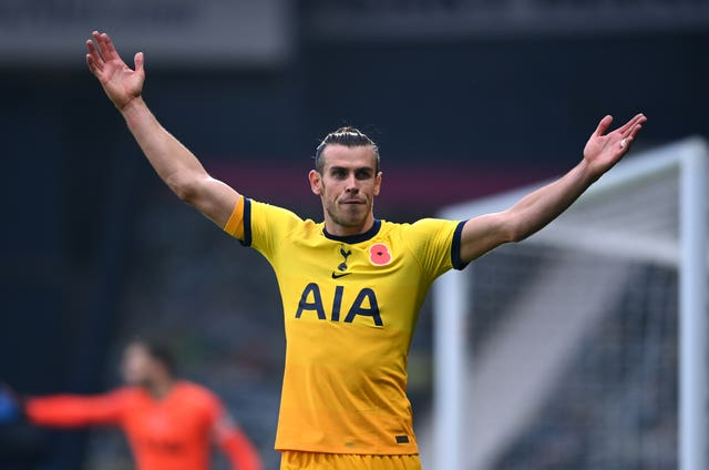 Gareth Bale has played just 45 minutes of Premier League action since November 8