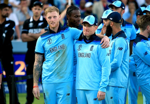 Ben Stokes (left) was England's key man in the World Cup final