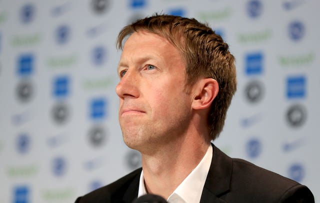 Graham Potter has been appointed Brighton head coach