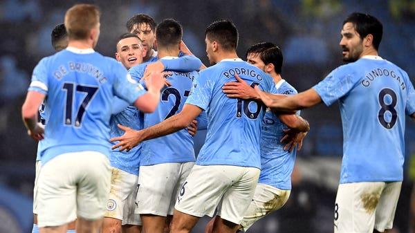 Phil Foden strikes as Manchester City edge past battling Brighton