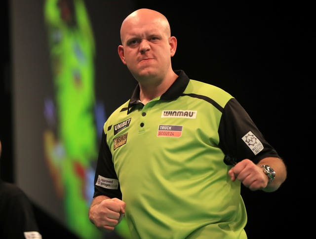 Glen Durrant was due to face world number one Michael van Gerwen in the Premier League