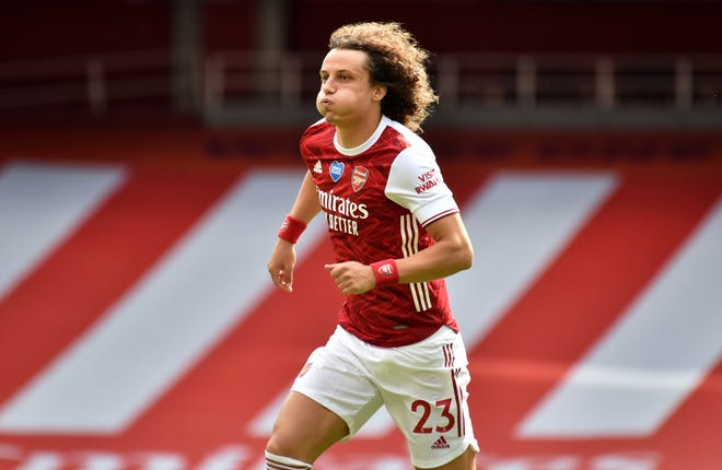 David Luiz also joined Arsenal last summer but endured a mixed first season in north London.