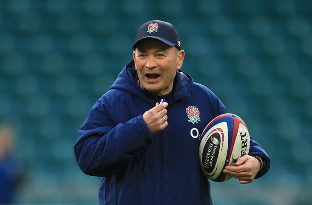 Eddie Jones objects to the