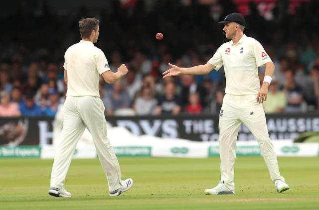 Stone (right) made his Test debut last month
