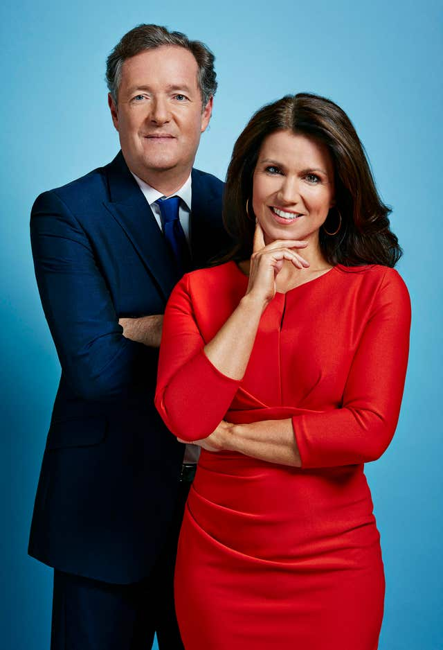 Susanna Reid: I compete more with Piers Morgan than the BBC - The