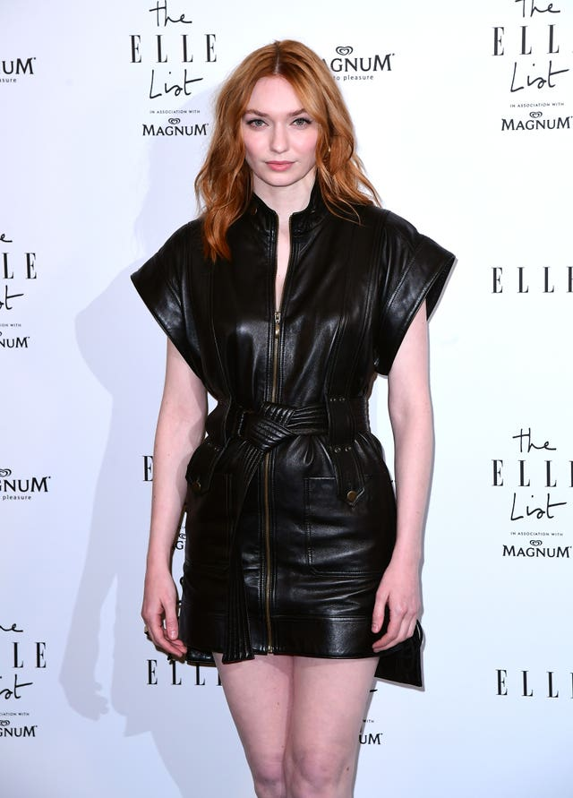 Eleanor Tomlinson at the ELLE List 2019 VIP Party – London