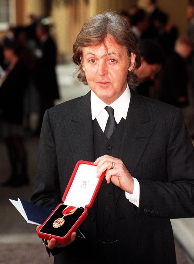 Music – Royal Investiture – Paul McCartney – Buckingham Palace