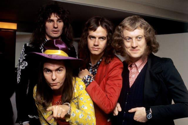 Slade pictured in 1973 (PA)