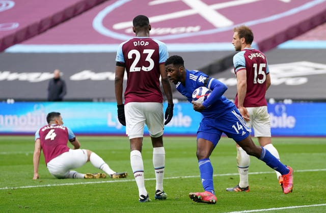 West Ham United v Leicester City – Premier League – London Stadium