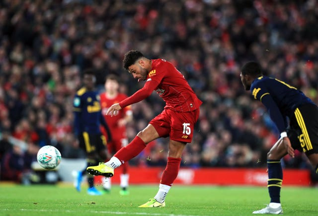 Oxlade-Chamberlain scored a terrific goal against his former club