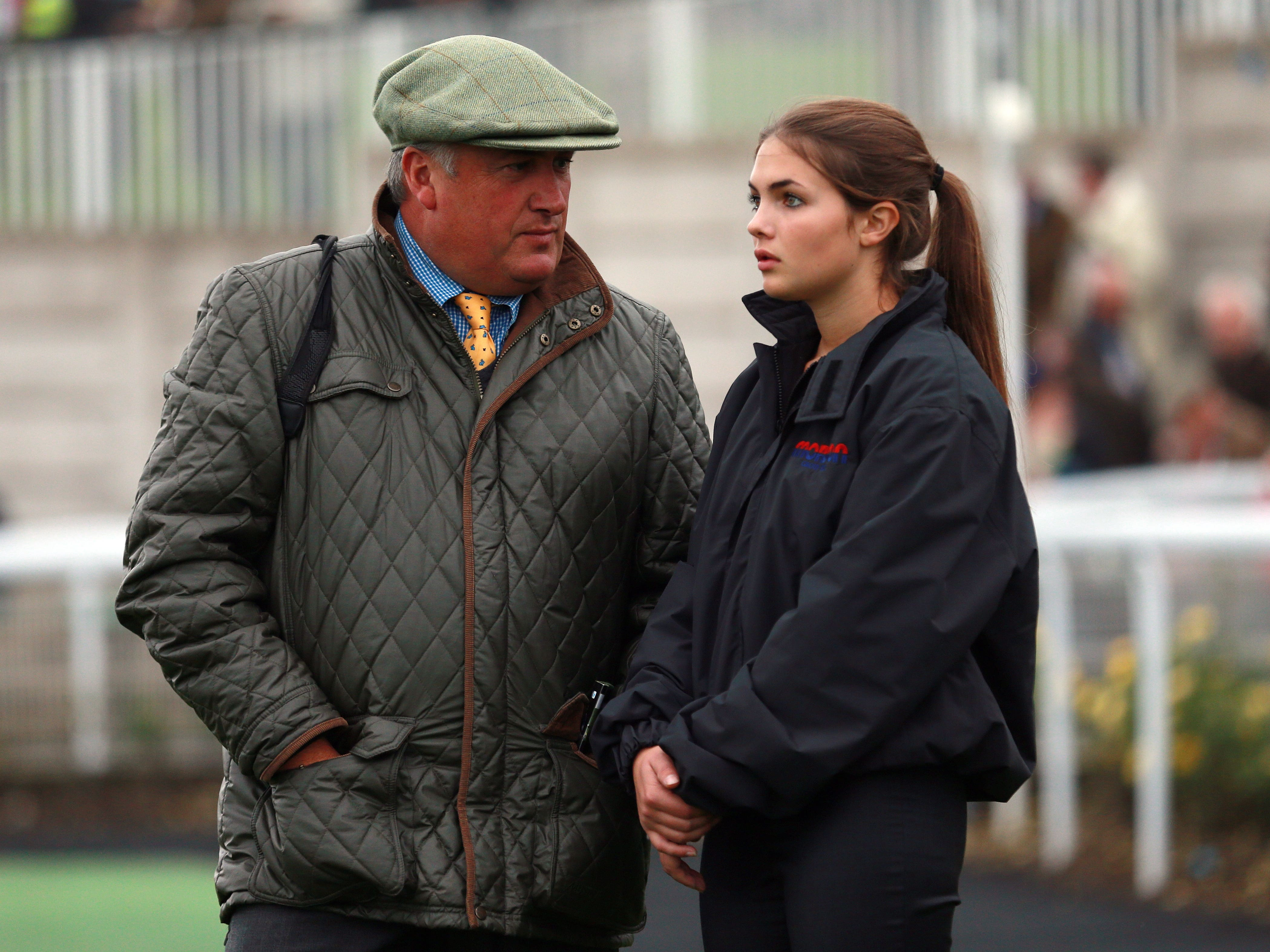 Paul Nicholls will team up with his daughter Megan in the November Handicap (David Davies/PA)