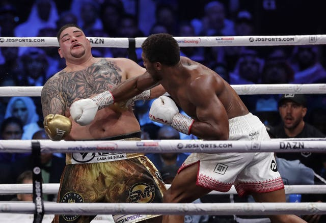 Anthony Joshua fought Andy Ruiz Jr in Riyadh at the weekend