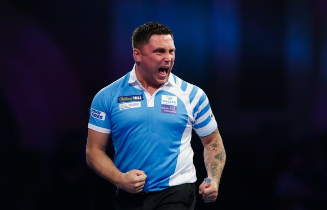 Gerwyn Price is in fine form