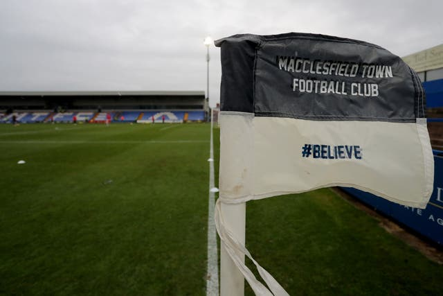 Macclesfield also failed to fulfil their fixture against Plymouth