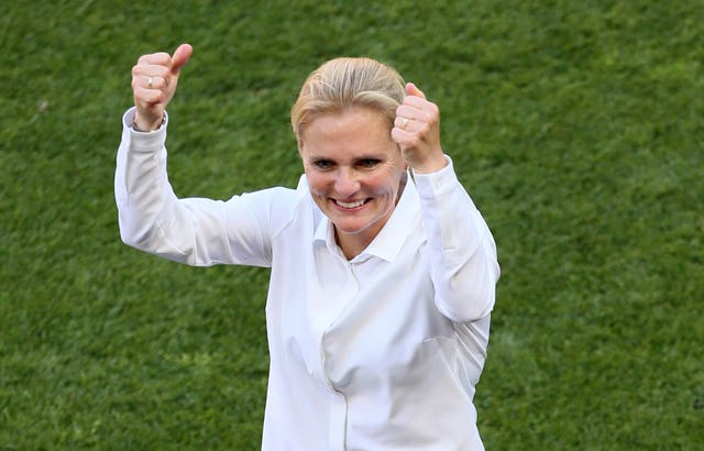 Sarina Wiegman is set to start work as England boss in Septmeber (Richard Sellers/PA).