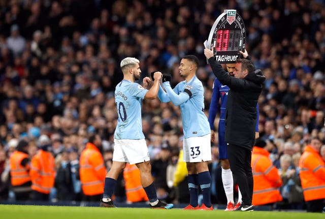 Gabriel Jesus is keen to learn from Manchester City team-mate Sergio Aguero