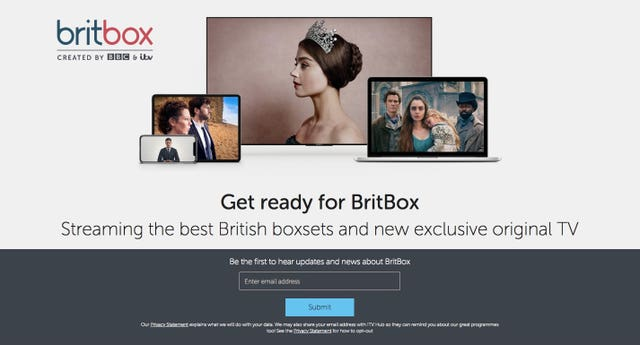 BritBox streaming service