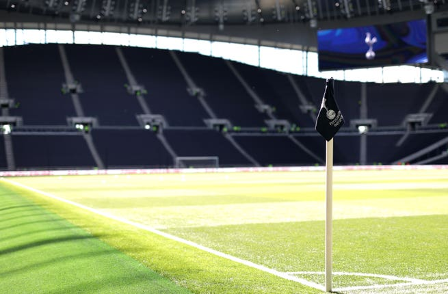 Tottenham's new stadium will host the north London derby in November