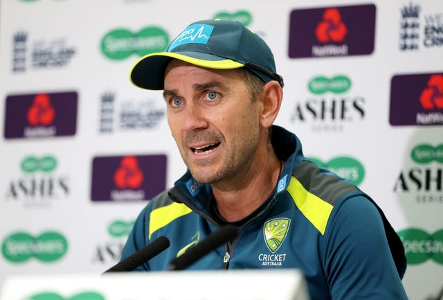 Justin Langer File Photo