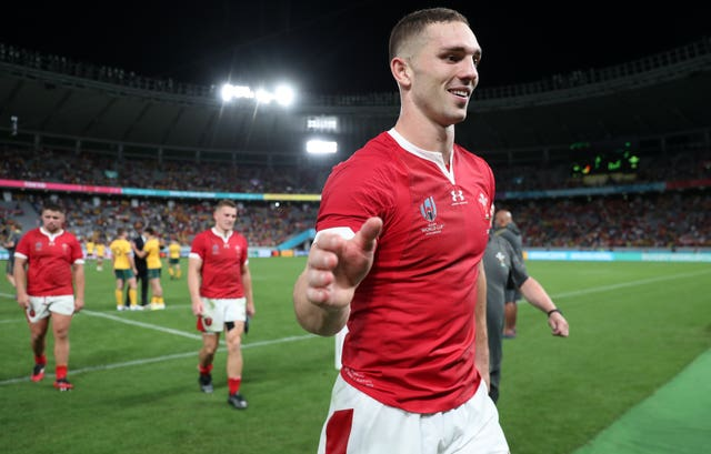 George North will earn his 92nd cap for Wales
