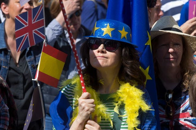 Brexit protests in Spain