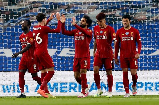 Mohamed Salah bagged a brace