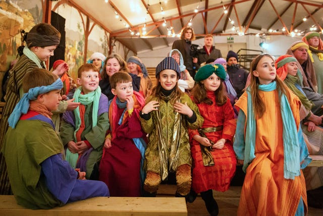 Wintershall Estate nativity play