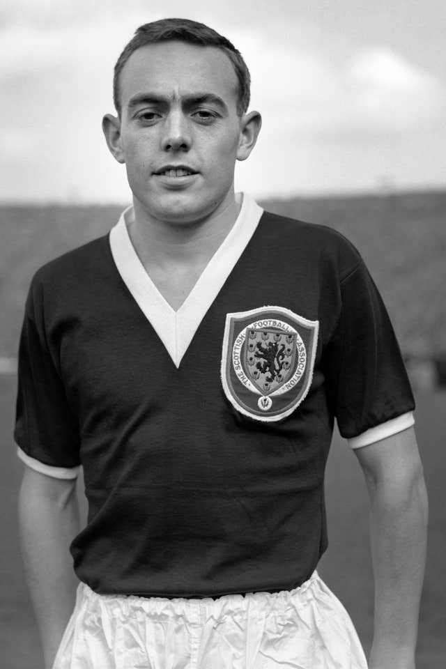 Ian St John file photo