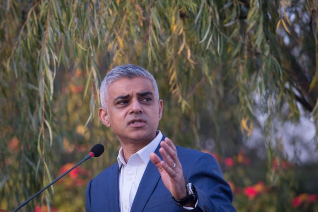 Sadiq Khan said Transport for London is seeking a partner to develop the Limmo Peninsula in Newham