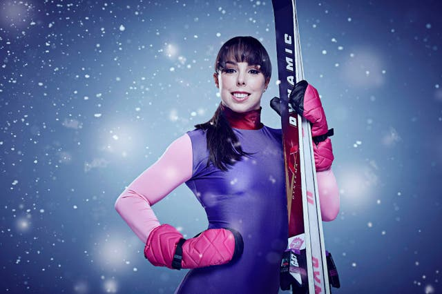 Beth Tweddle made an ill-fated appearance on The Jump